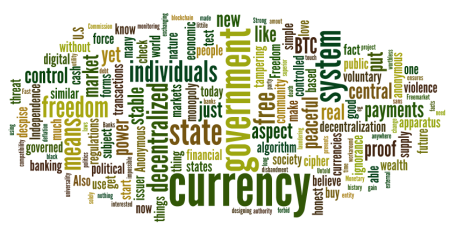 Users's favourite aspects of Bitcoin