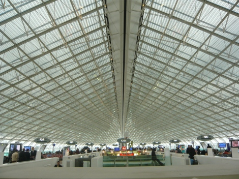 Charles de Gaulle International Airport, Wikimedia Commons